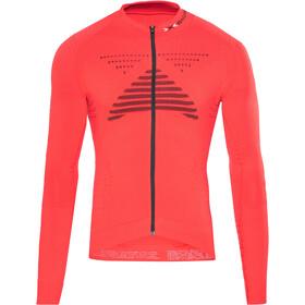 X-Bionic Effektor Power Fietsshirt lange mouwen Heren rood